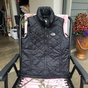 The North Face Primaloft vest black Womens Medium